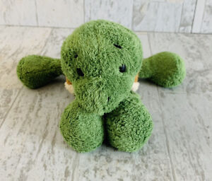 "Gund OLIVE Green Turtle Stuffed Plush 60118 Rare 6"" Tortoise"