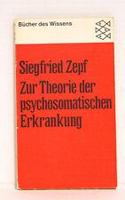 Zur Theorie der psychosomatischen Erkrankung, Zepf Siegfried