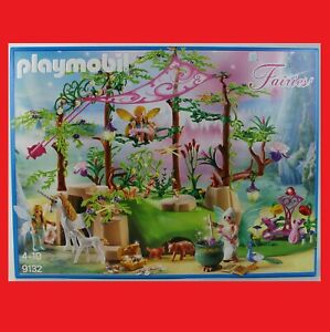 Playmobil 9132 Magischer Feenwald Fee Feen Zauberwald Wald Märchen Fairies NEU