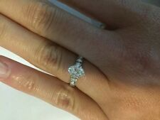 Engagement Ring $2500 Oval white gold
