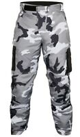 Buffalo Men's Camo Jeans Grey Black Waterproof Textile Motorcycle Trousers NEW
