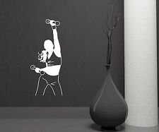 Wall Stickers Fitness Sexy Woman Gym Sports Girl Art Mural Vinyl Decal (ig1996)