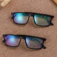 1x Progressive Multifocal Lens Anti-blue Light Presbyopia Eyeglasses +1.0 ~ +4.0