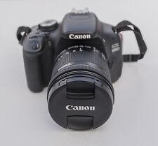 Canon EOS 600D 18.0 MP Digital SLR Camera, 2 x lenses