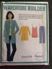 Wardrobe builder threadcount sewing pattern sizes 8-24 tc1907 uncut
