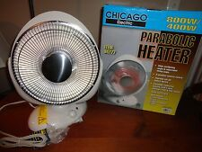 CHICAGO ELECTRIC 800W/400W PARABOLIC OSCILLATING PORTABLE HEATER
