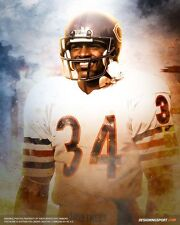 WALTER PAYTON Poster [Multiple Sizes] NFL Football 01A