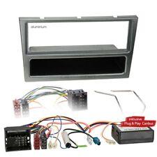OPEL CORSA C 00-04 1-DIN radio de voiture Set d'INSTALLATION BUS Can aluminium