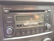 AUDIO & VISUAL EQUIP.(RADIO) SUBARU IMPREZA 07 (RECEIVER) AM-FM-6CD (2 DIN)