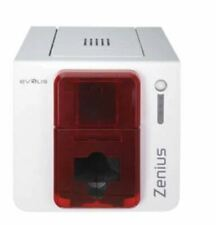 Evolis Zenius Single Side Complete Photo ID Card Printer System (Pre-Owned)