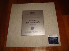 Bach 6 Cello Suites Violoncello Solo FOURNIER ARCHIV 3x 180g LP BOX NEW SEALED