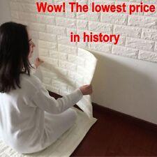 Luxury 3D effect Flexible Stone Brick Wall Textured Viny Wallpaper Self-adhesive