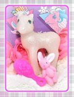 ❤️My Little Pony MLP G1 Style HQG1C Spellbound Flutter Sparkle Glitter Blank❤️