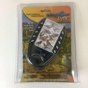 Identiflyer Lyric Bird Song Pocket Identification Learning Tool Songs & Lyrics