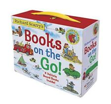 Richard Scarry's Books on the Go by Richard Scarry | Board book Book | 978037587