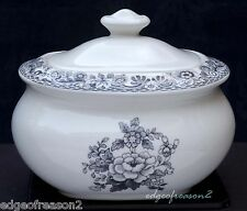 SPODE DELAMERE RURAL COVERED SUGAR BOWL POT BOX