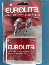 Eurolite High Intensity WHITE AUTO Alarm LED's  NEW!!! CAR ALARM