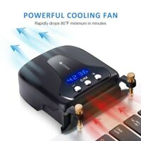 Laptop Cooler Fan Gaming External Air Vacuum Fan Computer Quickly Cooling Pad