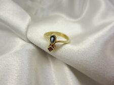 Wunderschön verarbeiteter Ring aus Gold 750 mit Saphir & Rubin