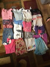 NWT NWOT EUC Mix Girls Summer Clothes Tops Shorts Capri Skorts Size: 10-10/12-12