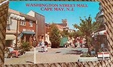 Postcard Washington Street Mall Cape May New Jersey