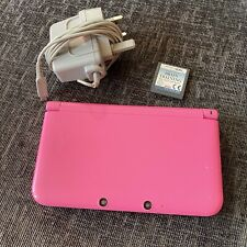Nintendo 3DS XL Pink Console - Includes Charger & Brain Training