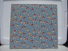 Nursery Rhyme Fabric Covered Photo Album 12 x 12 pages Slip In & Self -Adhesive