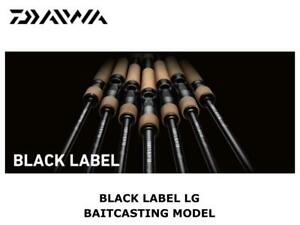 Daiwa Black Label LG Baitcasting 6111H+FB-SB casting rod ship from Japan
