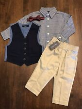 Infant//Toddler Boys Nautica $54.50-$59.50 Green or Navy 3pc Sets Size 12mo 4T
