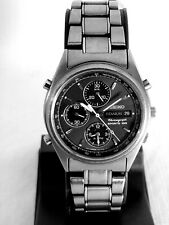 Seiko Titanium Sports 100 Chronograph 7T32-F069 Tachymeter Alarm  Men's Watch.
