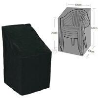 Waterproof Stacking Chair Cover Outdoor Garden Furniture Rain Snow UV