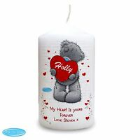 Personalised Me to You Teddy Heart Candle Valentines Day Gift For Her and Him #1