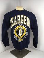 NEW VINTAGE 80s 90s Nutmeg Mills NFL San Diego Chargers Crewneck Sweatshirt Lrg