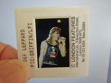 More details for original press photo slide negative - def leppard - joe elliott - 1990's - h