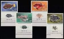 Israël postfris 1963 MNH 291-294 - Vissen / Fish