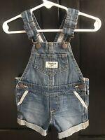 5407d7c880fe OshKosh B gosh Baby Girls  Removed Patch Denim Jumper - Ravine Blue ...