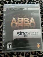 SingStar ABBA (Playstation 3) NEW GAME ONLY ps3