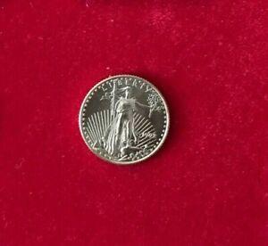 USA - American Eagle 1992 - 5 USD - 1/10 oz Feingold - ST - Top-Erhaltung!