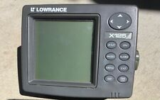 Lowrance X125 (Head Unit Only).