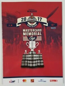 2017 Mastercard MEMORIAL CUP PROGRAM Windsor Spitfires Erie Otters CHL OHL QMJHL