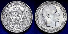 2 Kroner 1910 Haakon VII Norvegia Norway Argento Silver #996