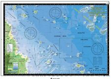 Boating, Fishing, Qld Marine Safety Chart - PERCY IS to BRAMPTON IS - Camtas