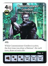DC Dice Masters Batman, Commissioner Gordon More Than a Badge #50 (Die & Card)