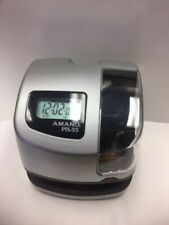 Amano Pix-55 Electronic Time Clock Recorder. Seller Refurbished.