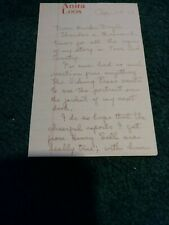 Anita Loos Autographed Letter Signed