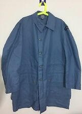 "Swedish Army Civil Defence Force Blue Jacket Civilforsvaret Large 40"" Chest"