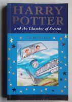 J.K.Rowling HARRY POTTER AND THE CHAMBER OF SECRETS 1ST/1ST Celebration ed. PB