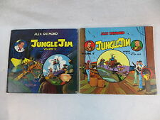 Lot of 2 Alex Raymond JUNGLE JIM Weekly 1941-1942 Vols 5 & 6 Pacific Comics Club