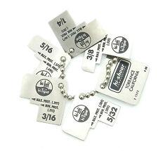 Hi Lok Pin Protusion Gauges 2-1522 Go-No-Go Gauge 5/32 - 3/8, Aviation, Mechanic