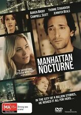 Manhattan Nocturne (DVD, 2016) A Brody Y Strahovsky C Scott J Beals LIKE NEW
